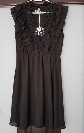 Czarna sukienka rozmiar 38