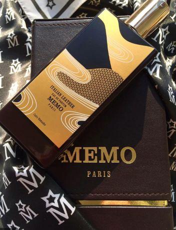 Распив Memo French Leather, Italian Leather ,Russian Leather