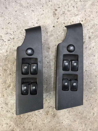 Блок кнопок стеклоподъемников 4-х дверей Шевроле Авео
