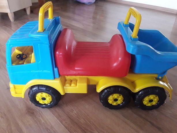 Детская грузовая машина - толкатель