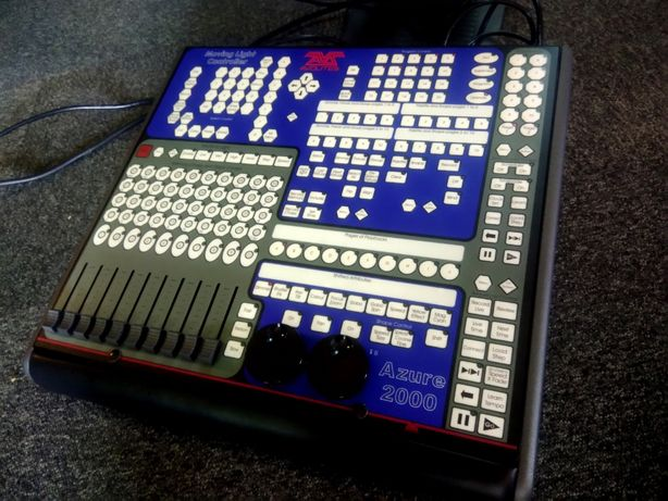 Avolites Azure 2000 Moving Light Controller USB DMX Interface Desk
