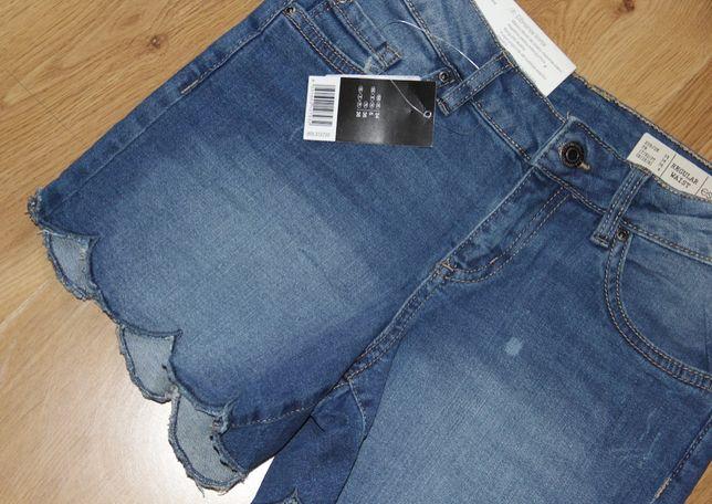 spodenki jeansowa 34 xs krótkie levis lee  spodnie niebieskie 36 s