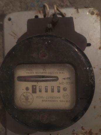 Электро щетчик