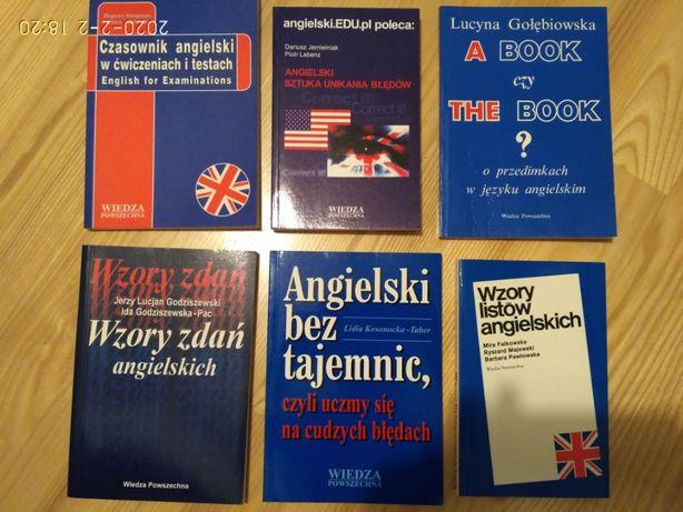 język angielski - gramatyka, wzory listów, pułapki językowe