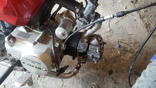 Мотор альфа 72см