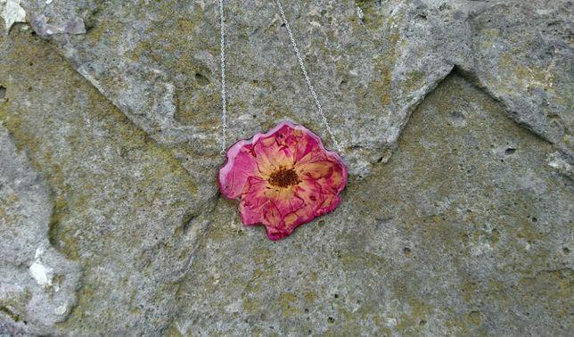 Шикарный кулон ручной работы Роза, подвеска, Троянда, подарок