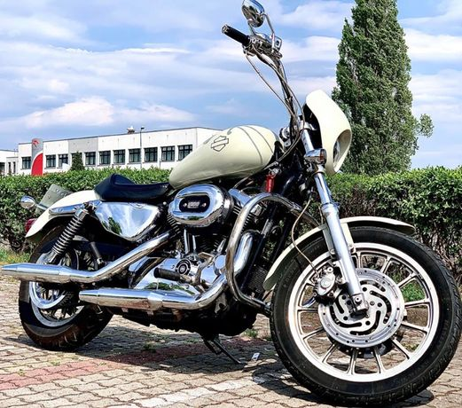 Harley Davidson Sportster 1200 XL1200R + sakwy
