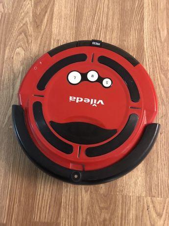 Aspirador robot Vileda com 3 programas