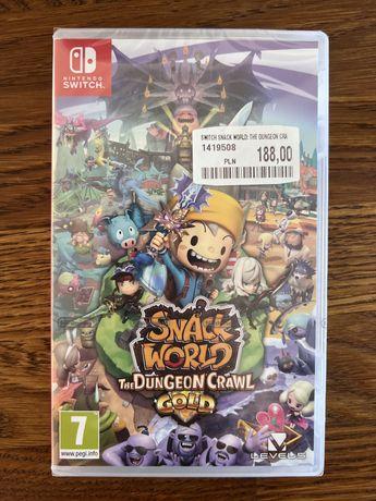 Snack World The Dungeon Crawl Gold - nowa folia nintendo switch
