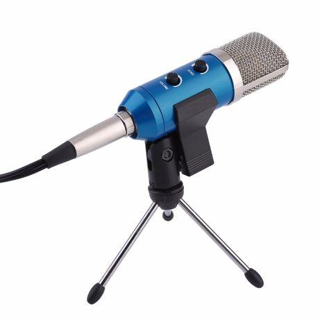 Новые конденсаторные микрофоны ZEEPIN F100TL BLUE - USB - Гарантия!