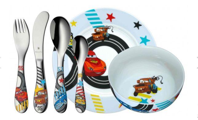 Набор детской посуды WMF Cars Disney столовых приборов Набір дитячий