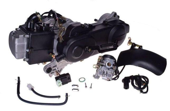 Silnik skuter 80 cm3 4T długi krótki wałek pokrywa 43 cm nowy