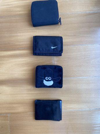 Várias Carteiras - Coruro, Nike, H&M, Nice