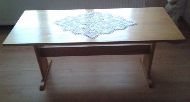Stolik PRL, stół, ława kawowy, okolicznościowy, drewniany