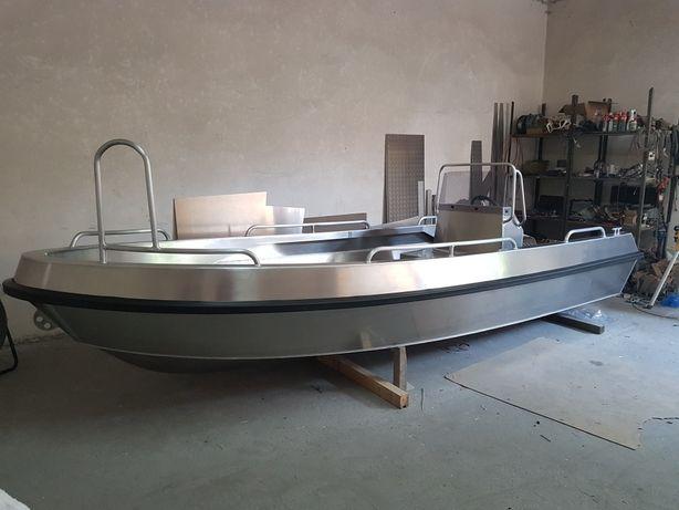 Łódka Łódź aluminiowa Gomar550