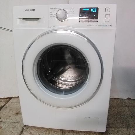 Máquina lavar roupa roupa Samsung eco BuBble 9kg. Entrego