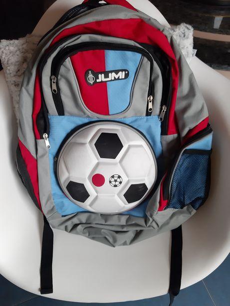 Plecak sportowy szkolny Jumi piłkarski 45x40 nie Nike Reebok