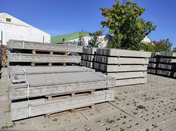 Podmurówka betonowa, łącznik, skałka, kaseton, montaż ogrodzeń,