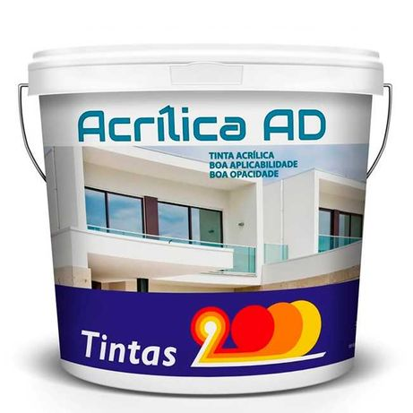 Acrílica AD (Tinta 100% acrílica para fachadas)