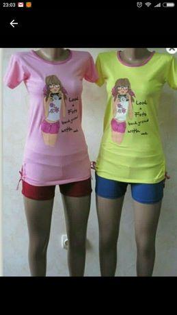 Туника на девочку, футболка 122-140 см, новая.