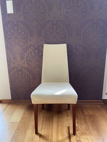 Eleganckie krzesła z eko skory