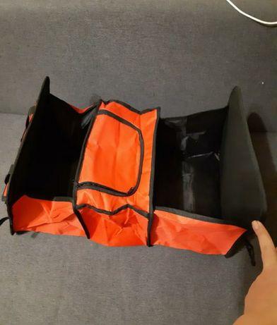 Органайзер автомобильный дорожный + сумка холодильник термосумка
