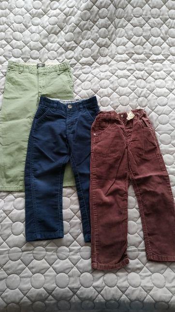 Paczka ubrań chłopięcych 104 cm spodnie koszule bluzy