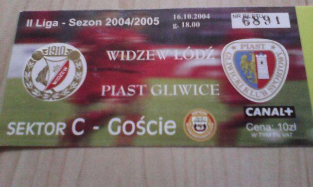 Widzew Łódź -Piast Gliwice 16.10.2004
