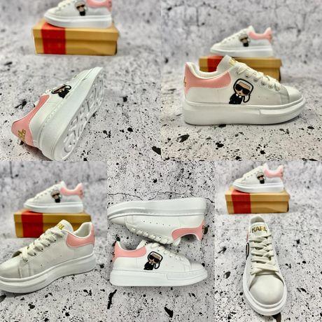 Wyprzedaz! Damskie sneakersy KARL LAGERFELD 36,37,38,39,40 . Pobranie
