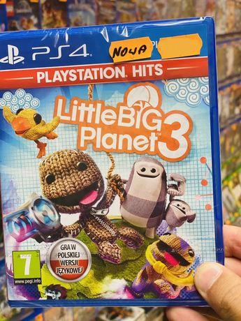 Little Big Planet 3 /NOWA w folii /PL PS4 *Sklep Bytom