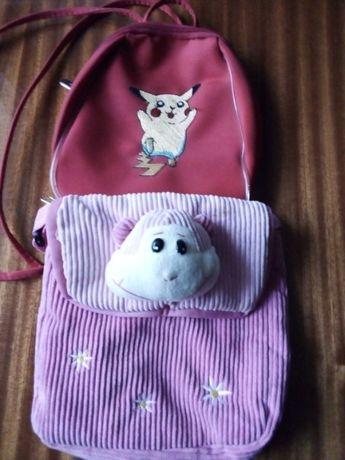 plecak i torebka dziecięca