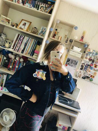 Nowa kurtka jeansowa rozmiar S