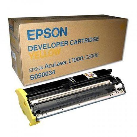 Toner Epson Aculaser C1000 Amarelo