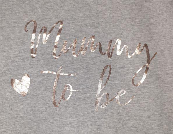 Koszulka ciążowa, t-shirt,maternity, rozmiar 18, 46, TU