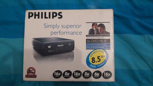 Gravador cds Externo Philips