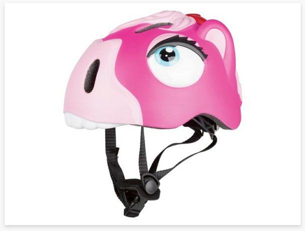 Nowy Kask rowerowy dziecięcy  Dziewczęcy kask na rower rolki hulajnoga