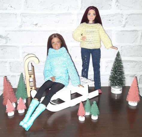 Ubranka dla Barbie