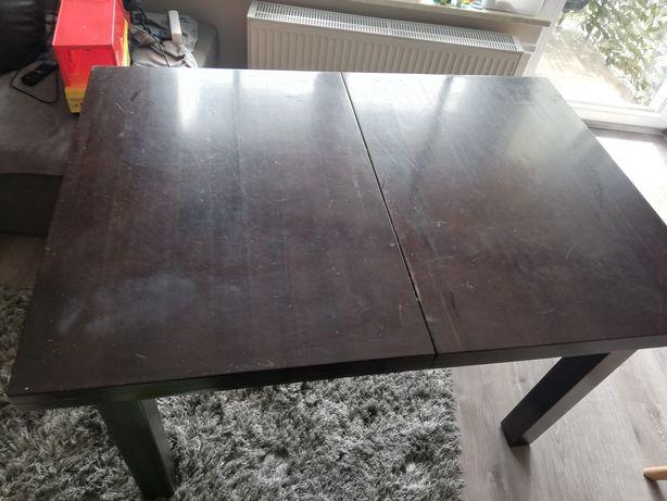 Stół masywny drewniany rozkładany