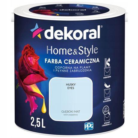 DEKORAL Home&Style farba ceramiczna HUSKY EYES 2,5