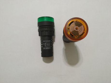 Аварийные светодиодные сигнальные индикаторы  со звуком на  12 в