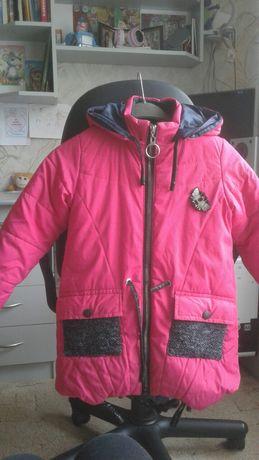 Куртка зимняя, размер 34 на меху