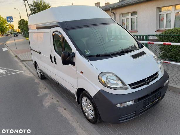 Opel Vivaro  1.9DTI 101KM 200TYS KM L2h2 WYSOKI TRAFIC Bezwypadek KS.serwis