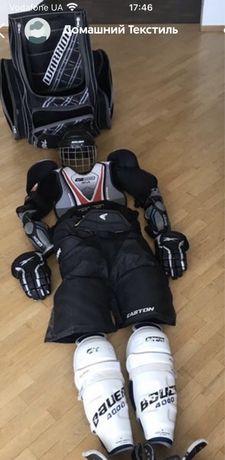 Хоккейная экипировка, комплект формы на рост до 170 см