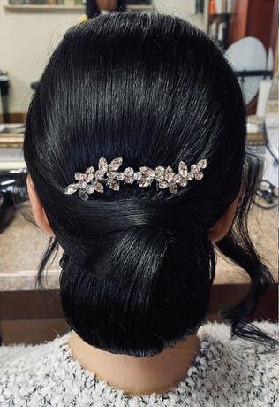 Bizuteria ślubna do włosów
