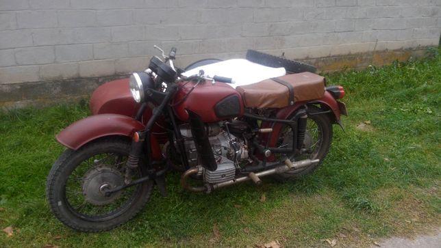 Мотоцикл Днепр МТ-10 с коляской ТОРГ