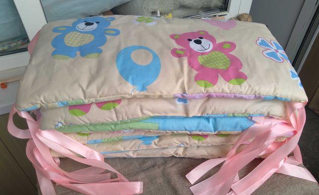 Защитные бортики в детскую кроватку. Подушки защитные. Качество