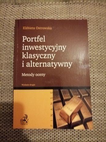 Portfel inwestycyjny klasyczny i alternatywny, Elżbieta Ostrowska