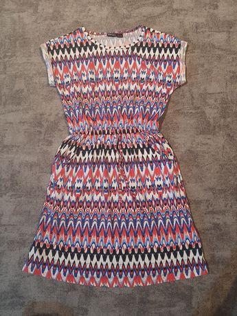 Sukienka w azteckie wzory Rozm xs