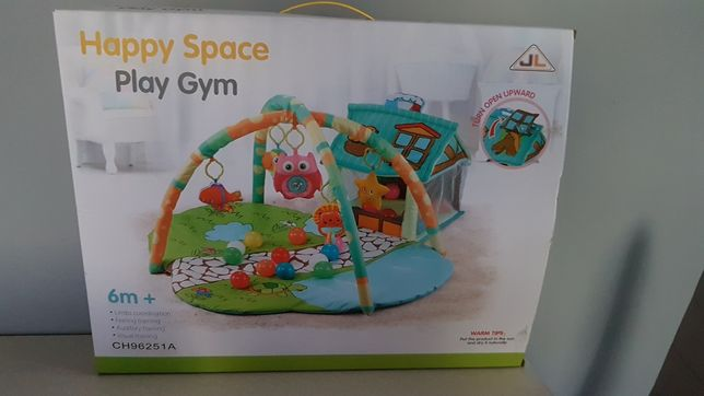 Mata edukacyjna Happy Space Play Gym