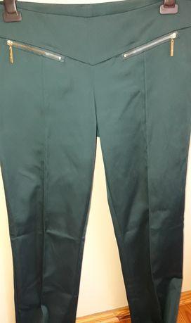 Spodnie top secret 42 L butelkowa zieleń